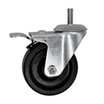 "4"" Swivel Caster with Phenolic Wheel and Total Lock Brake"