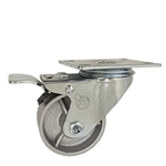 "3"" Swivel Caster with Semi Steel Wheel and Total Lock Brake"