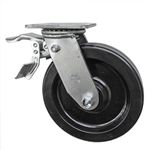 8 Inch Total Lock Swivel Caster with Phenolic Wheel
