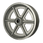 8 Inch Cast V Groove Wheel