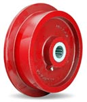 10 inch flanged Wheel