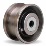 5 inch double flanged Wheel