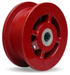 6 inch double flanged Wheel