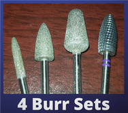 Professional Diamond Sanding Burrs for Foot Care Nurses