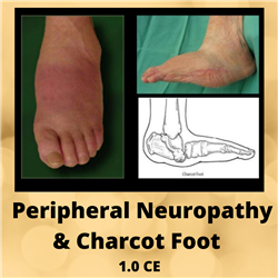 Peripheral Neuropathy & Charcot Foot- 1.0 CE - $25.00