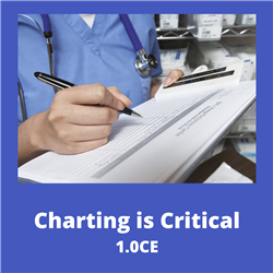 Charting is Critical - 1.0 CEs $25.00