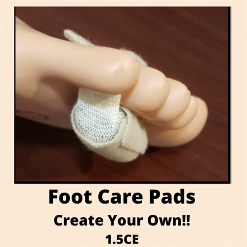 How to Create Your Own Foot Care Pads - 1.5 CE Credits