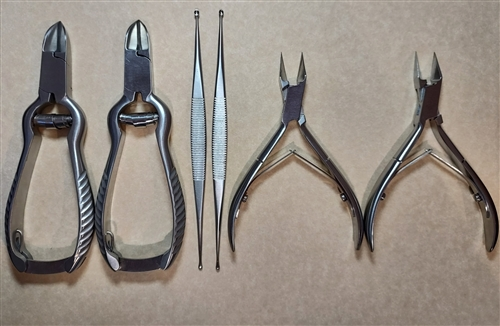 Basic Nursing Foot Care Instruments Nursing Foot Care Set
