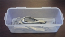 Germicide Tray For Medical Foot Care Instruments