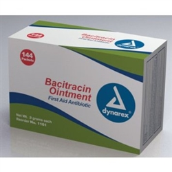 Bacitracin - 144 pkts Single Package Antibacterial Ointment