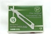 Individually Wrapped Professional-Grade Scalpel Blades - 100ct