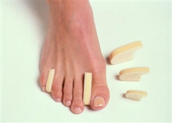 Professional Foam Toe Spacers for Foot Pain Relief