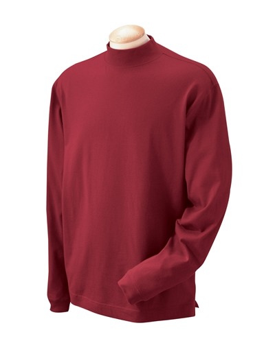 Cotton Mock Turtleneck