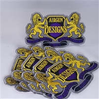 AGD Logo Patch 2020 Version 3x5 - 5 Pack of Patches