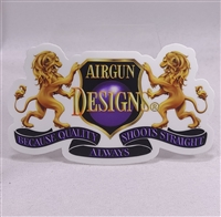 "Sticker AGD Lions Logo 2020 AGD 5""X3"" - One Sticker"