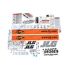 NEW JLG AERIAL WORK PLATFORM SERVICE DECAL KIT 1930 ES