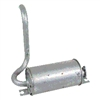 TOYOTA FORKLIFT MUFFLER ASSEMBLY PARTS 17510-23600-71