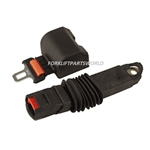 HYSTER FORKLIFT RETRACTABLE SEAT BELT - ORANGE ANTI-CINCH PARTS 865286-0