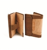 Two tone cork Lady's Wallet Large