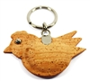 Bird Key Holder in Natural Cork