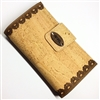Cork Wallet Brown Lace Large