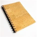 Cork A5 Spiralbound Notebook
