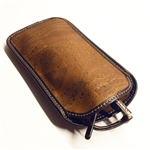 Cork Sunglass Case Brown
