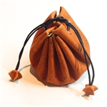 Cork Draw String Pouch Orange
