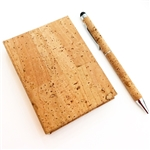 Cork Post it & note book