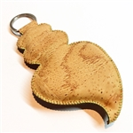 Cork Viana Heart Key Holder Natural