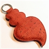 Cork Viana Heart Key Holder Red