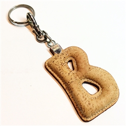 Cork Key Holder Letter B