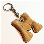 Cork Key Holder Letter M