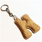 Cork Key Holder Letter N