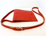 Cork Small Shoulder Strap Orange