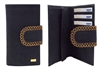 Cork Black and Gold Wallet
