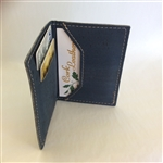 Cork Card Holder blue