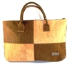 Patchwork Cork Handbag
