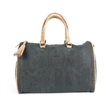 Big Cork Trunk Dark Blue Bag