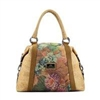 Flowers Cork Side Bag