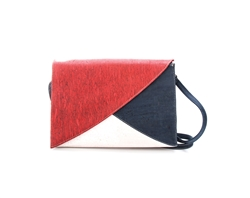 Asymetric Sling Bag Tri Color