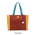 Cork Poppy Tote Rust