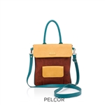 Cork Poppy Satchel Rust
