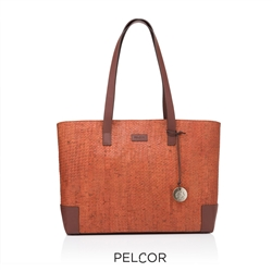 Cork Cayenne Tote Wax Rust