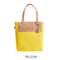 Cork Sunshine Tote Lemon