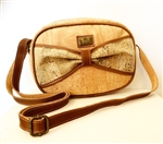 Cork Shoulder Bag with bow