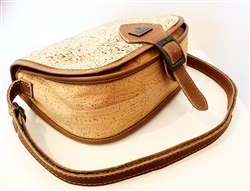 Cork Shoulder Bag with buckle