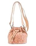 Cork Bucket Bag Fennel Red