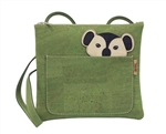 Green Cork shoulder bag