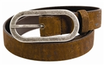 Brown Thin Cork  Belt
